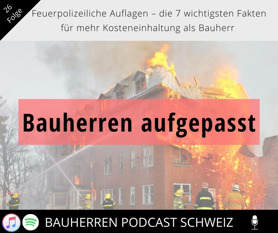 Feuerpolizeiliche Auflagen – die 7 wichtigsten Fakten für mehr Kosteneinhaltung als Bauherr