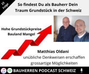 So findest Du als Bauherr dein Traum Grundstück in der Schweiz