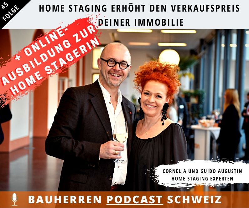 Home Staging Bauherren Podcast Schweiz