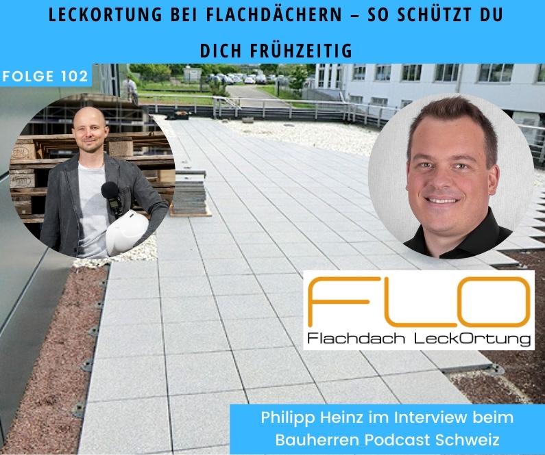 Wasserschaden-am-Flachdach-bauherren-podcast-schweiz-marco-fehr