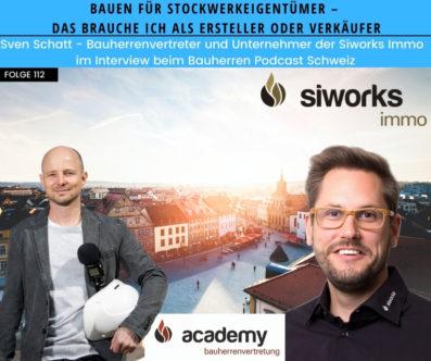 Bauen für Stockwerkeigentümer – Tipps von Sven Schatt