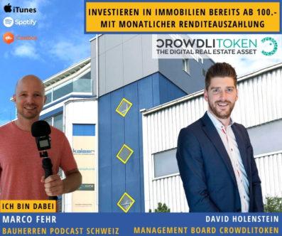 Crowdlitoken: Ab 100 Franken in Immobilien investieren