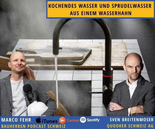 Quooker: Dampf machen mit dem Wasserhahn, der alles kann