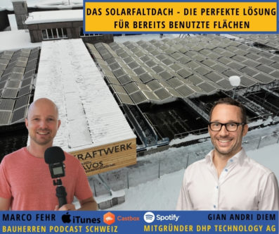 Das Solarfaltdach: Doppelter Nutzen dank Schweizer Knowhow