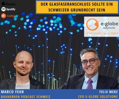 Gigaschnell: Mit Glasfaser in die Zukunft